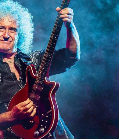 Brian May enseña a fanáticos a ejecutar clásicos de Queen por transmisiones en vivo