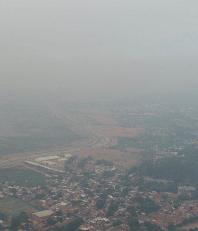 Súbito aumento de casos de afecciones respiratorias por humareda en Asunción