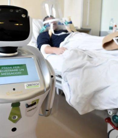 Italia da un salto tecnológico en la atención de pacientes con coronavirus