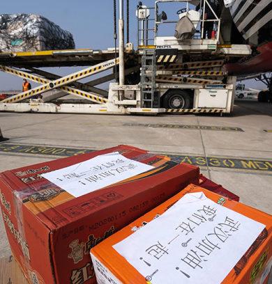 La próxima semana llegan aviones cargueros chinos con insumos
