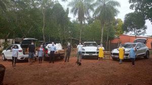 Porsche y TECHO entregan alimentos a más de 1.200 personas en Luque, Limpio y Capiatá