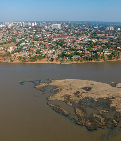 Río Paraguay por fin registró suba tras lluvias