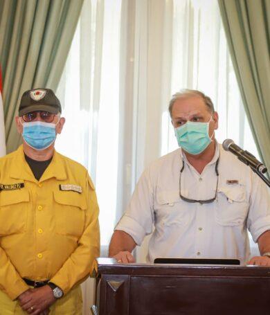 Gobierno trabajará en plan de inversiones para prevenir y atender los incendios forestales