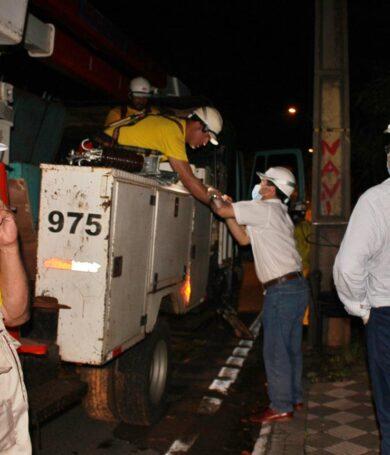 20 mil clientes aún siguen sin electricidad, reporta ANDE