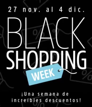 Llega el Black Shopping Week