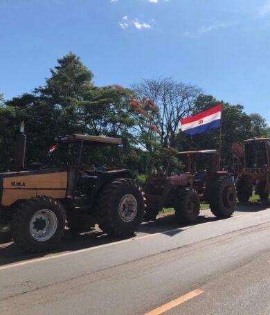 Productores de Itapúa partieron rumbo a Asunción