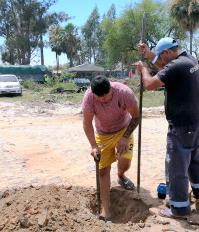 Essap intervino una conexión clandestina de agua potable