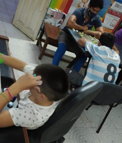 Centros Refugios del MINNA incorporan talleres creativos para niñas, niños y adolescentes