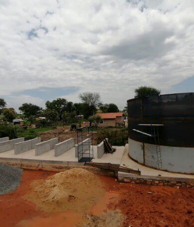 Essap inició los trabajos de instalación de una Planta Móvil Potabilizadora en Limpio