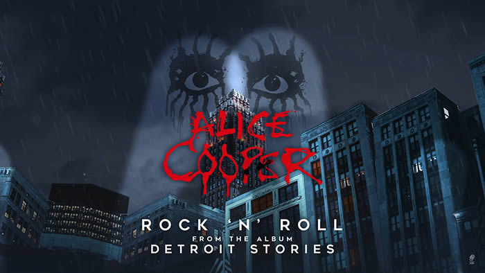 "ALICE COOPER estrena ""Rock & Roll"", su versión de VELVET UNDERGROUND"