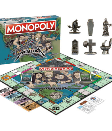 """Monopoly lanza su nueva versión """"METALLICA World Tour"""""""