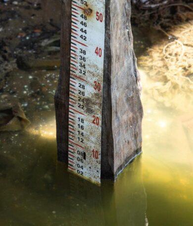 Río Paraguay registra repentino descenso de 7 centímetros
