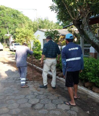 ESSAP cambió tuberías para mejorar distribución de agua potable en barrio de Pilar