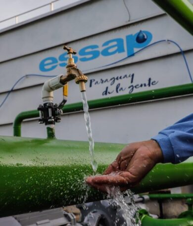 Essap inauguran planta para mejorar servicio de agua potable en San Bernardino