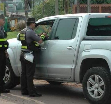 Patrullera Caminera volverá multar a conductores con documentos vencidos, desde el domingo