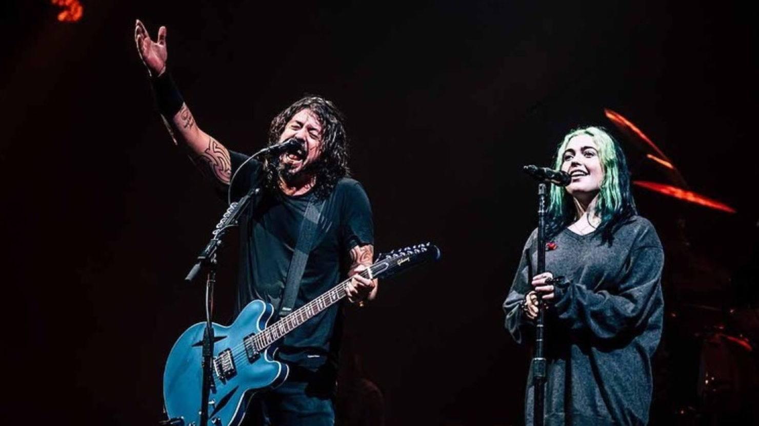 Dave Grohl y su hija Violet colaborarían en un nuevo disco