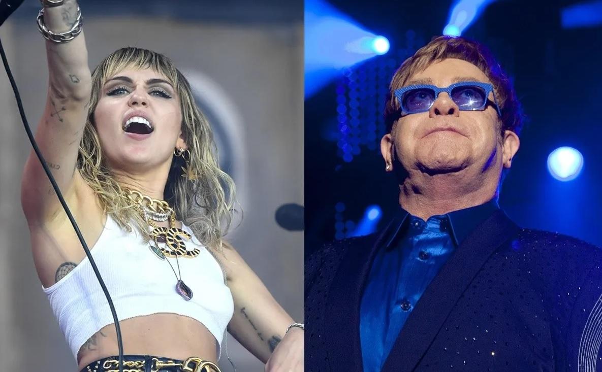 Disco de covers de Metallica de Miley Cyrus contará con la participación de Elton John