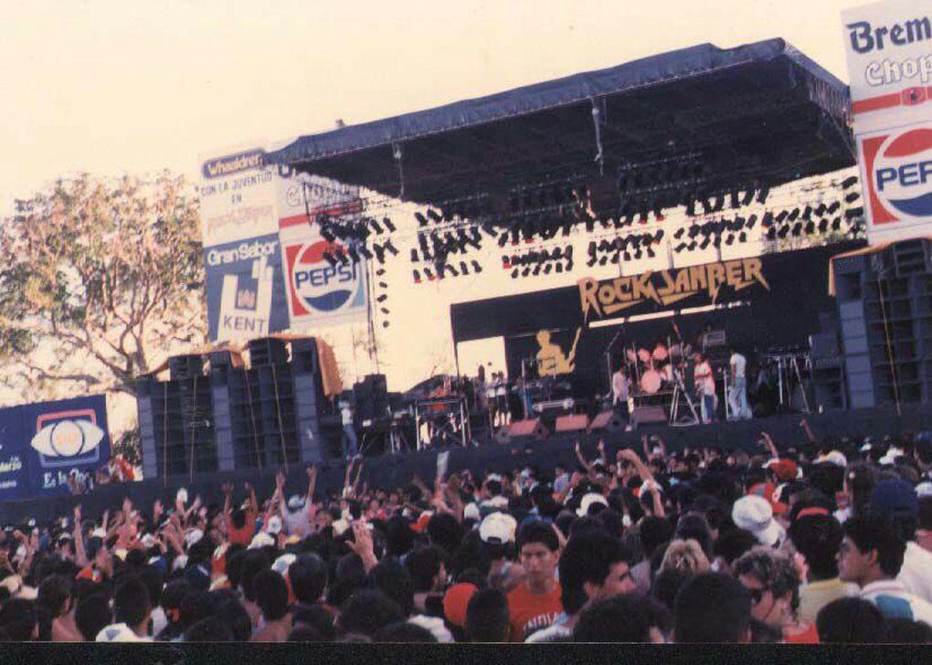 Rock Sanber: 33 años del histórico festival de rock