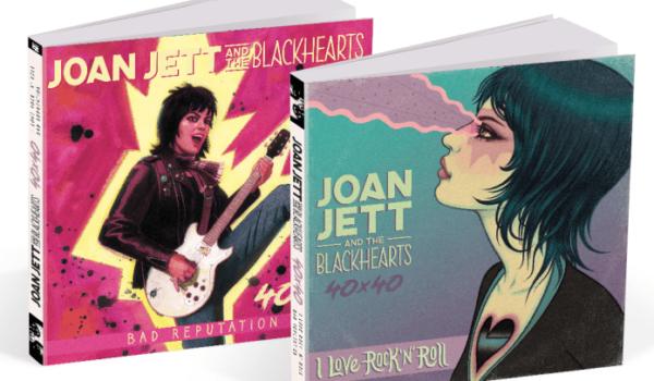 Joan Jett anuncia cómic de sus más icónicos álbumes