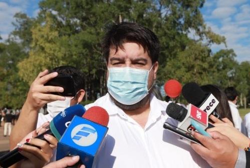 """Dr. Roque Silva: """"El ministro Borba no tiene que pedir mi renuncia porque mi cargo siempre está a disposición suya"""""""
