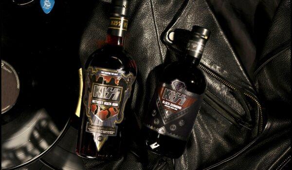 La banda de rock Kiss lanza una gama de bebidas alcohólicas