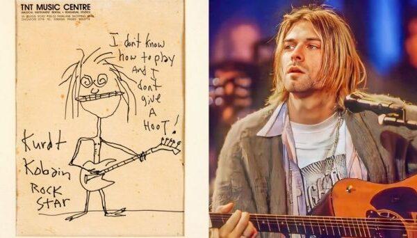 Kurt Cobain: Autorretrato del cantante se vendió por más de 280 mil dólares en una subasta