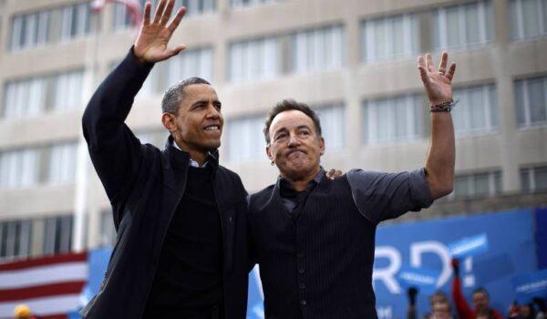 """Obama y Springsteen publican su libro """"Renegades"""" en octubre"""