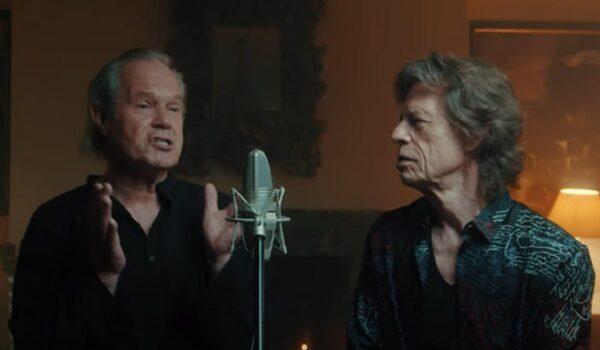 Mick Jagger se une a su hermano Chris en el video de «Anyone Seen My Heart»