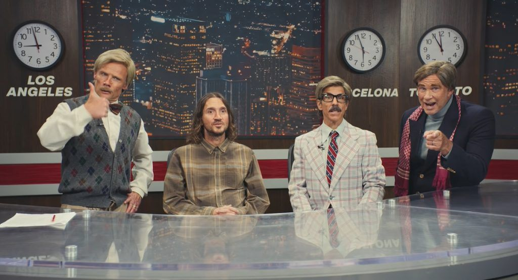 Red Hot Chili Peppers confirma gira mundial en 2022 con divertido sketch