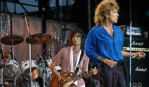 Jimmy Page carga contra Phil Collins y su actuación del Live Aid con Led Zeppelin: «Fue un error elegirle»