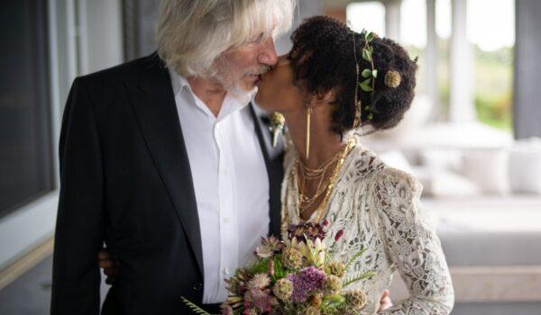 """Roger Waters se casa y comparte las fotos de su boda: """"Estoy muy feliz"""""""